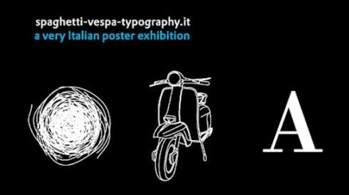 spaghetti vespa typography